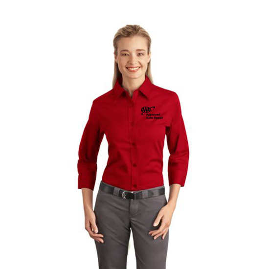 Picture of Ladies' 3/4 Sleeve Easy Care Shirt