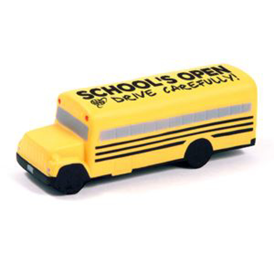 Picture of School Bus Stress Toy