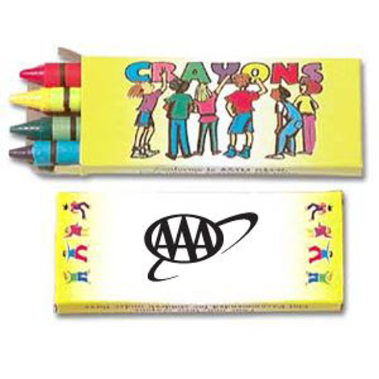 Picture of 4 Pack Crayons