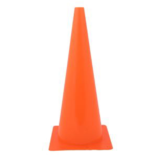 "Picture of 18"" Safety Cone"