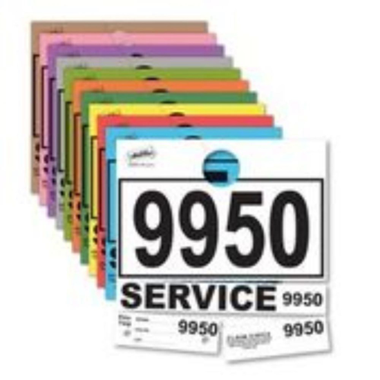 Picture of Service Department Hang Tags - Stock Consecutive Numbering - 1,000 per pack