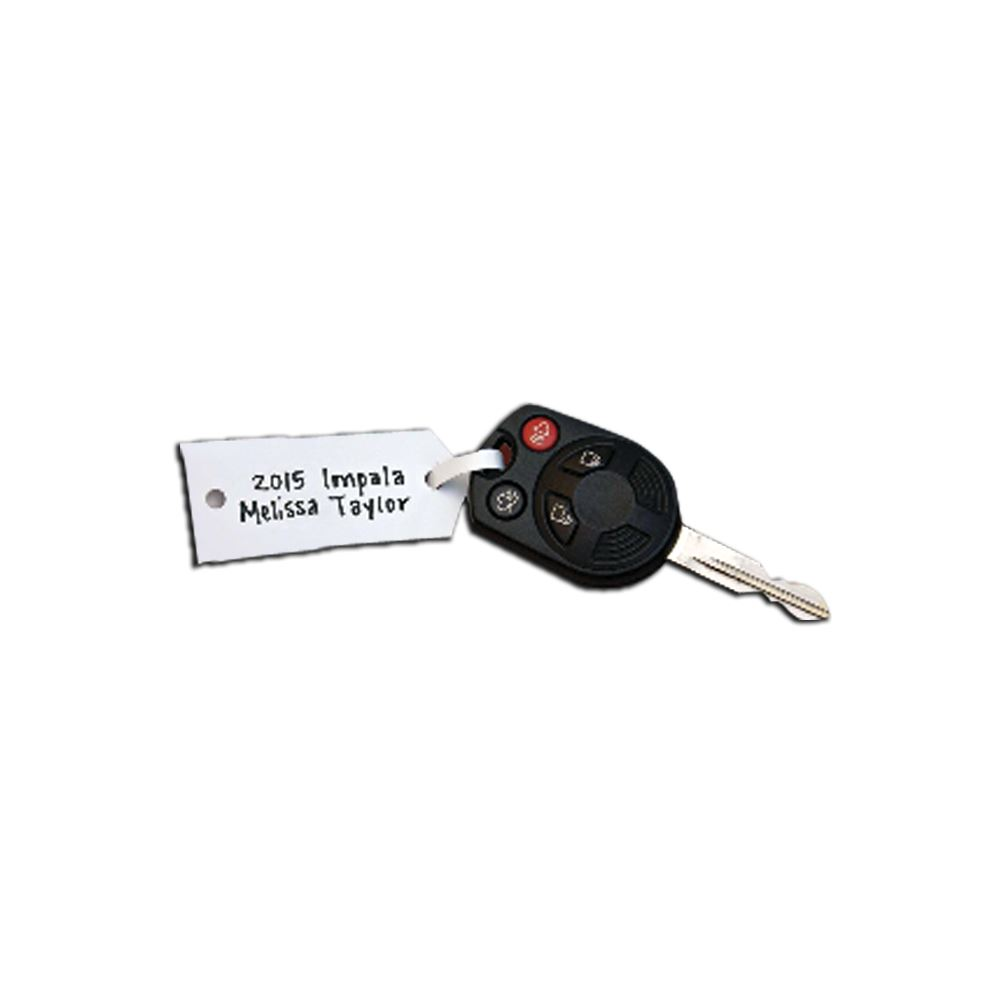 Picture of Arrow ID Key Tags - Blank - 1,000 per pack