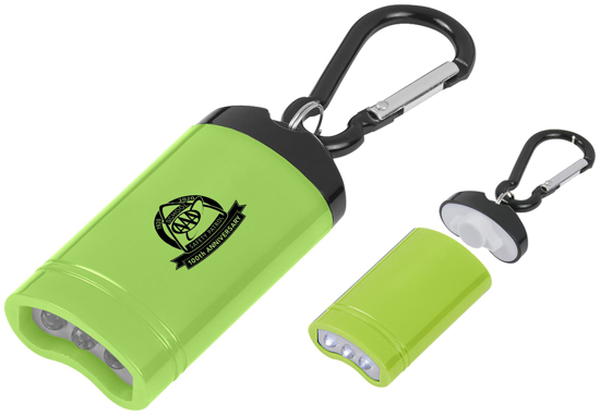 Picture of Quick Release Magnetic Flashlight w/Carabiner