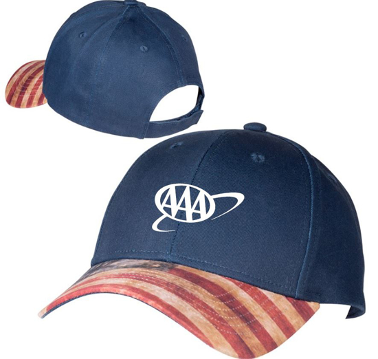 Picture of Patriotic USA Flag Bill Hat